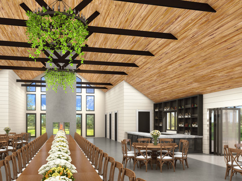 La Pointe Venue Interior Rendering