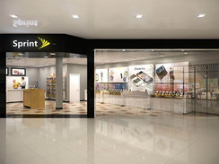3D Rendering of a Sprint Store