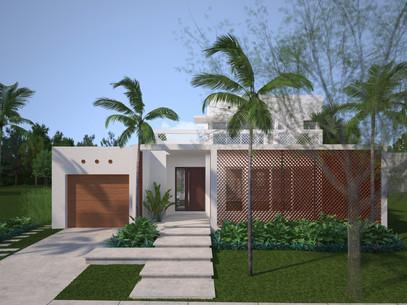 Virtual 360 of a Residential Exterior