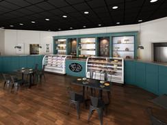 Hollin Hall Pastry Shop Interior