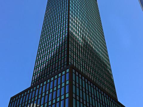 3D Rendering of a City Skyscraper