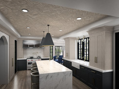 Oakridge Kitchen Rendering