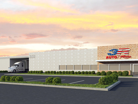 Large Commercial Building Rendering