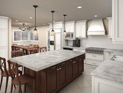 Interior Kitchen Rendering