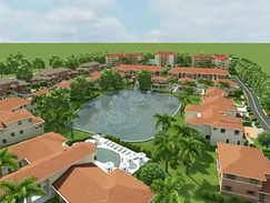 Residential Housing Complex Animation