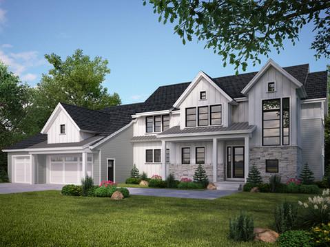 Home Exterior Rendering