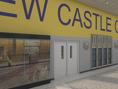 Architectural Animation of a High School