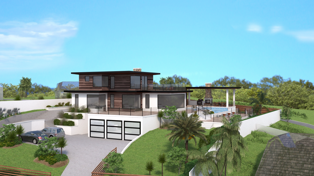 Virtual 360 of a Modern Style Home
