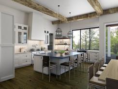 Photorealistic Kitchen Rendering
