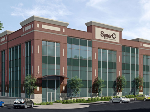 SynerG Office Building Rendering