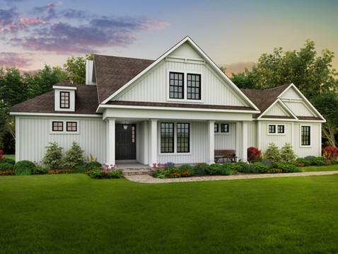 Home Rendering Exterior
