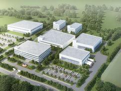 PXEVA Commercial Lot Aerial