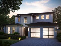 Residential Exterior 3D Rendering