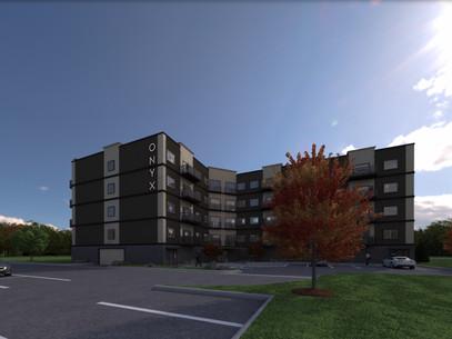 Virtual 360 of a Condominium Building