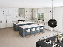 Architectural Kitchen Rendering