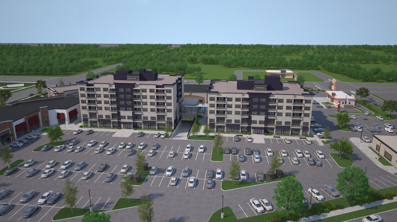 Virtual 360 of a Housing Complex Exterior