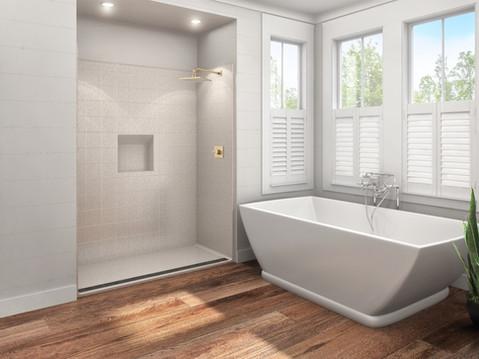 11526 Suburban Bathroom