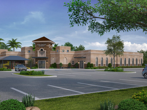 11455 Synagogue Expansion Rendering