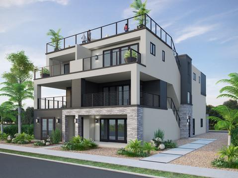 Exterior Residential Rendering