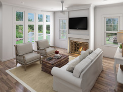 Frasier Living Room Rendering