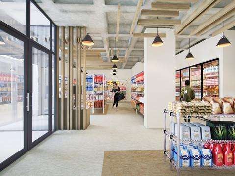 11042 UMD Campus Pantry 3D Interior
