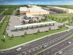 Buford Fuel Center Aerial