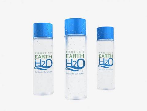3D Rendering of a Water Bottle