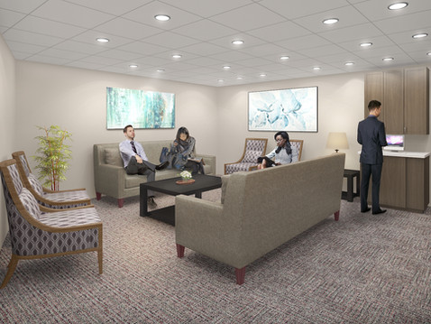 Office Waiting Room Rendering