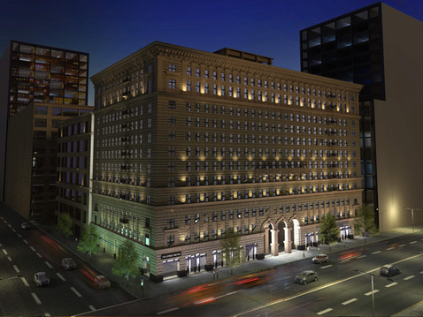 Rendering of A Downtown Office Building