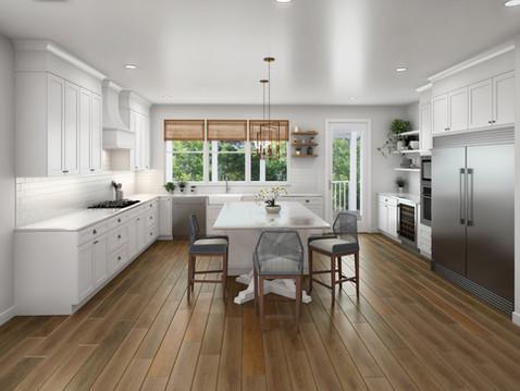 Alpine Kitchen Rendering