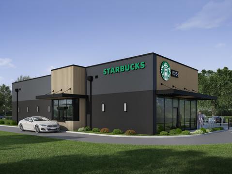 Starbucks Drive Through Exterior