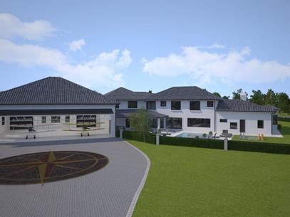 Exterior Virtual 360 of an Estate