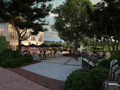 Sports Club Courtyard