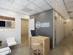 Office Entry Rendering