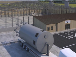 3D Animation of a Mineral Processing Plant