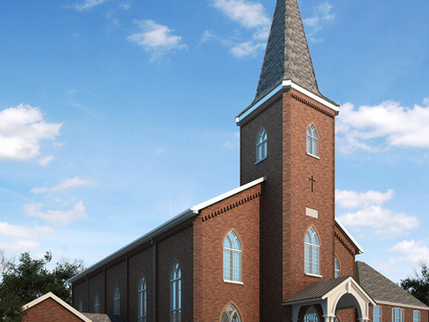 St. Maurice Church Remodel Rendering