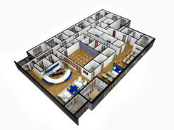 11148 5th Floor 3D Floor Plan