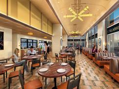 Carlucci Dining Interior Rendering