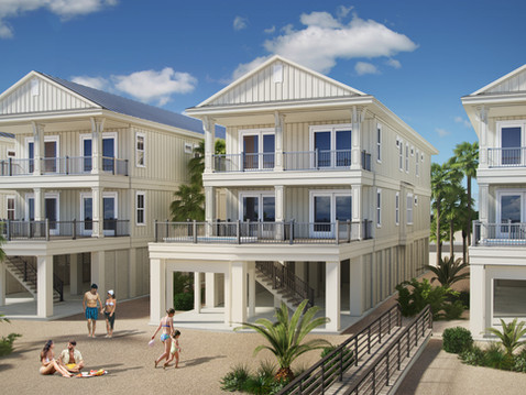Rendering of a Beachfront Home