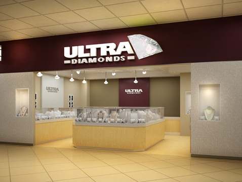 Ultra Diamond Store Rendering