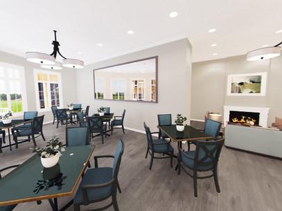 Senior Community Dining Room