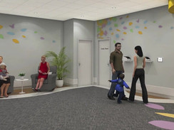 Family Community Center 3D Animation
