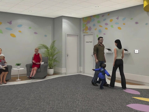Family Community Center 3D Animation
