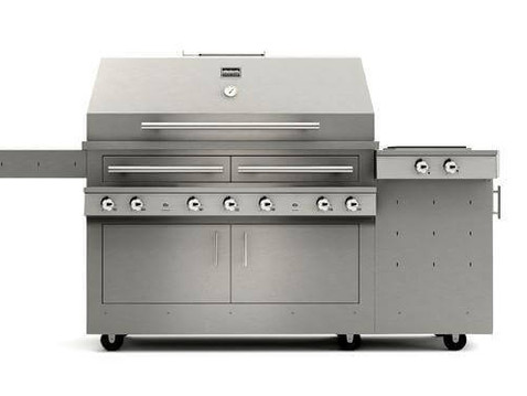 Photorealistic Rendering of a Gas Grill
