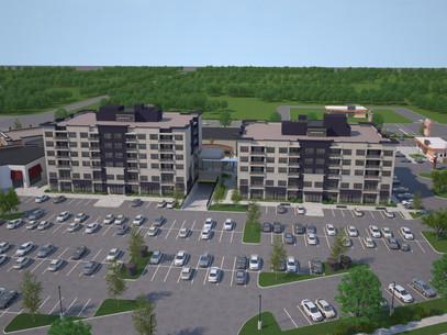 Virtual 360 of a Housing Complex Exterior