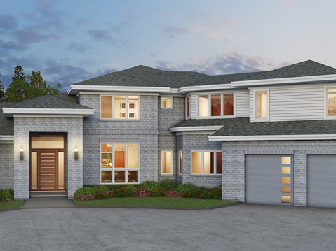 Luxury Mansion Home 3D Rendering