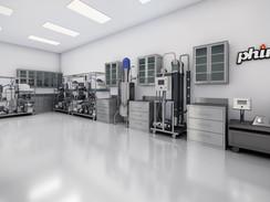 Lab Interior Rendering