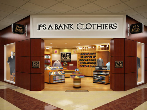 Rendering of a JoS A Bank Clothing Store