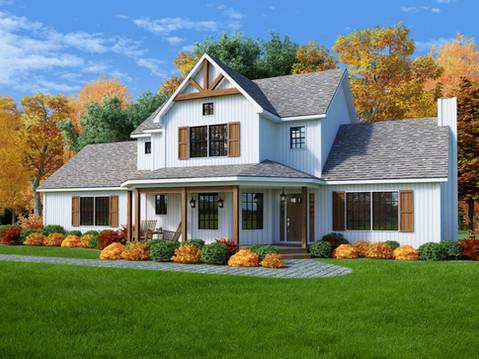 Wedgewood 3D Home Rendering