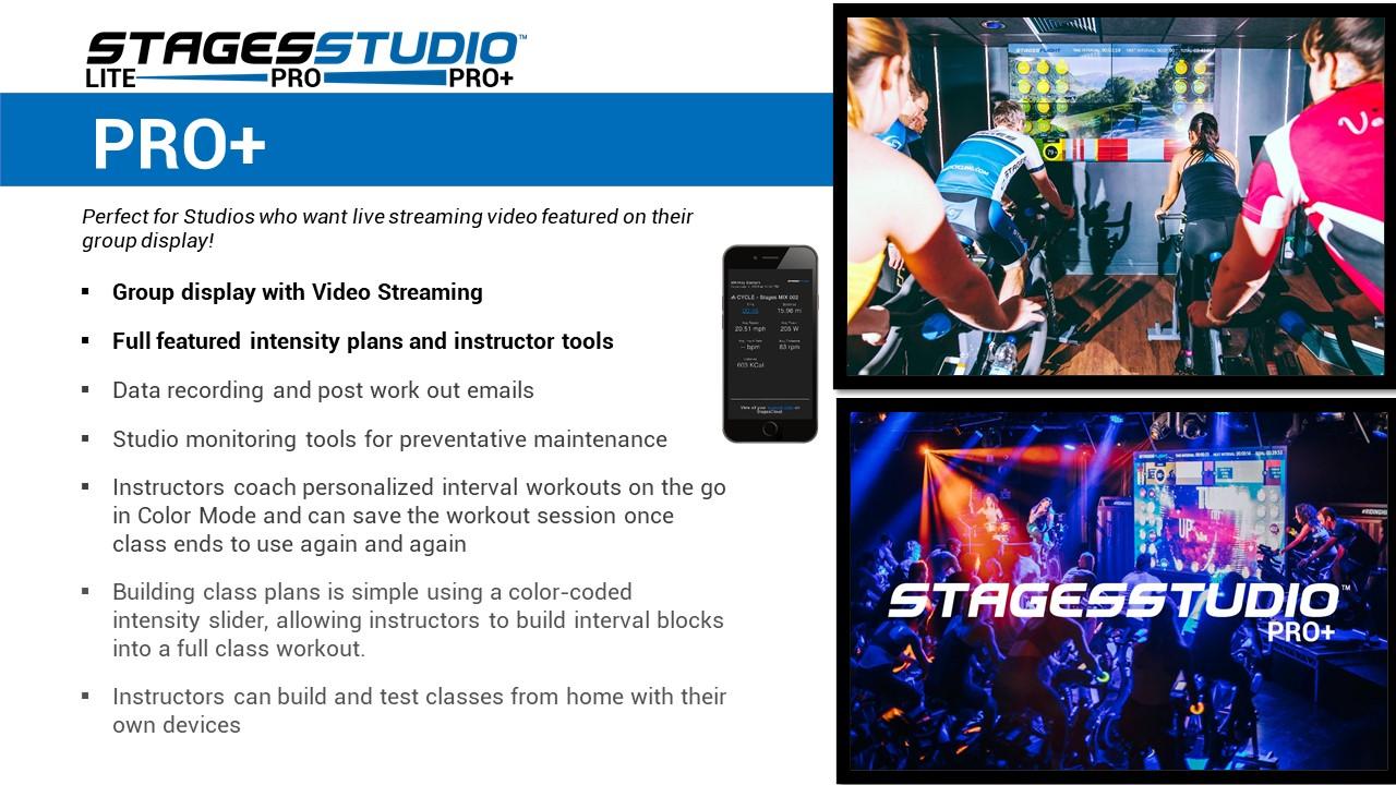 StagesStudio Pro+